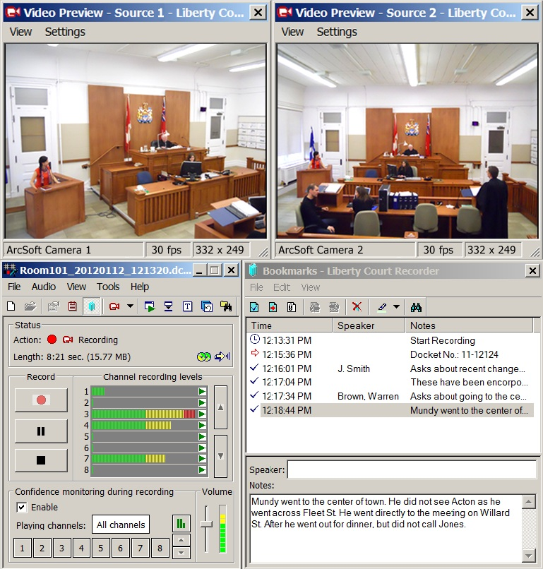 Liberty Video Recording System
