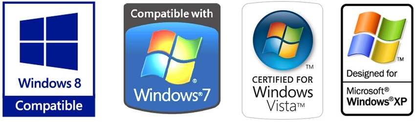 The Liberty Recorder is certified across all 5 of the most recent versions of Windows.